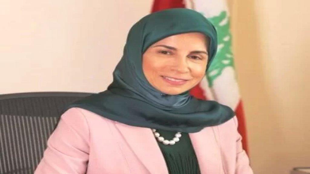 النائب عناية عز الدين تقدمت باقتراح قانون لادخال الكوتا النسائية في قانون الانتخاب بـ 26 مقعدا على الاقل
