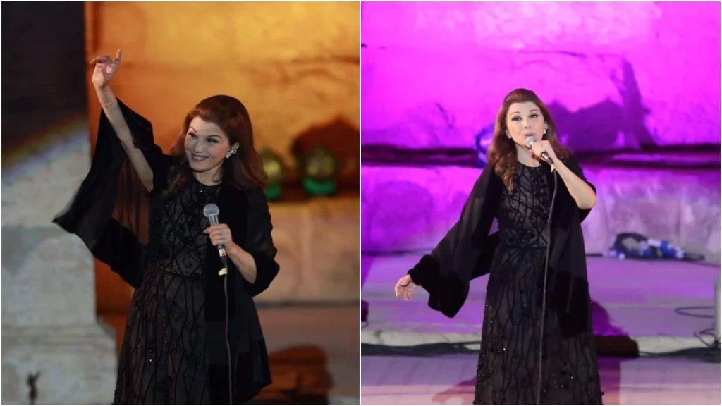 """السيدة ماجدة الرومي بعد تعرضها لوعكة صحية على المسرح في مهرجان جرش: """"شكرا على كل هالمحبة"""""""