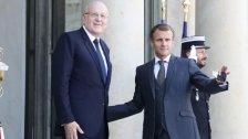 ماكرون يستقبل ميقاتي في قصر الإيليزيه في باريس