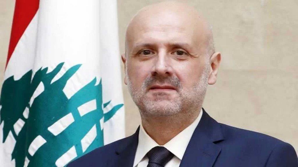 وزير الداخلية أعطى توجيهاته للبدء بالتجهيزات اللوجستية لمقر هيئة الإشراف على الانتخابات بشكل فوري