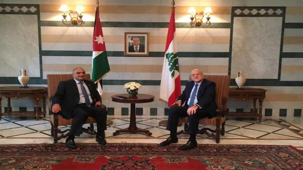 بدء الاجتماع الموسع بين رئيسي وزراء لبنان والاردن في السراي الكبير بمشاركة الوفدين الوزاريين اللبناني والاردني