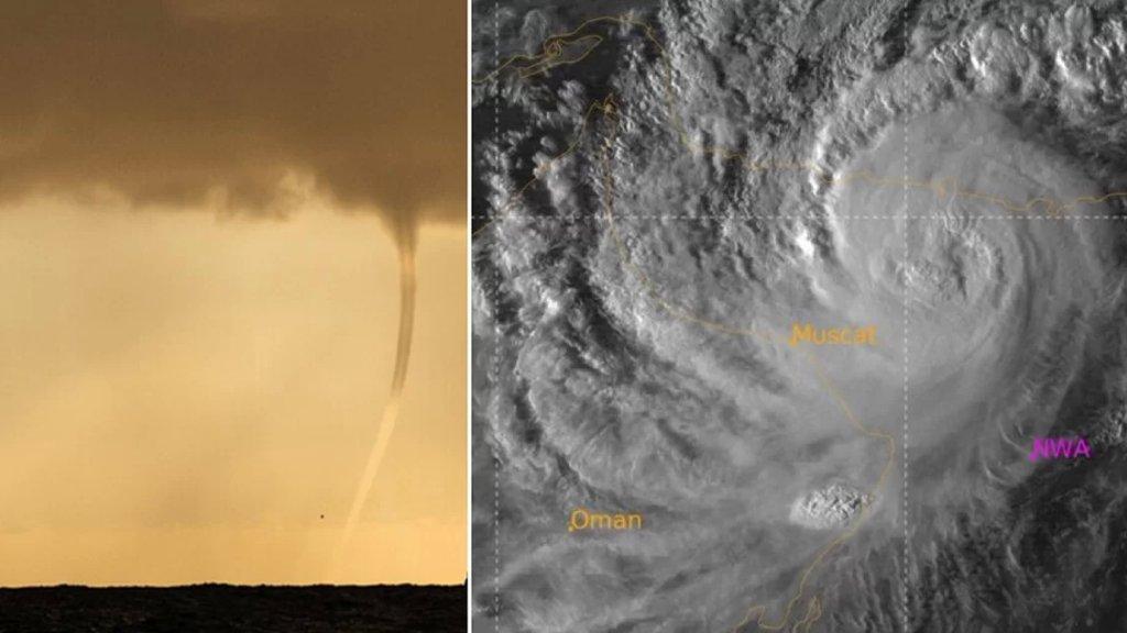"""الإعصار """"شاهين"""" يقترب من عُمان وهذا تأثيره على الإمارات والسعودية"""