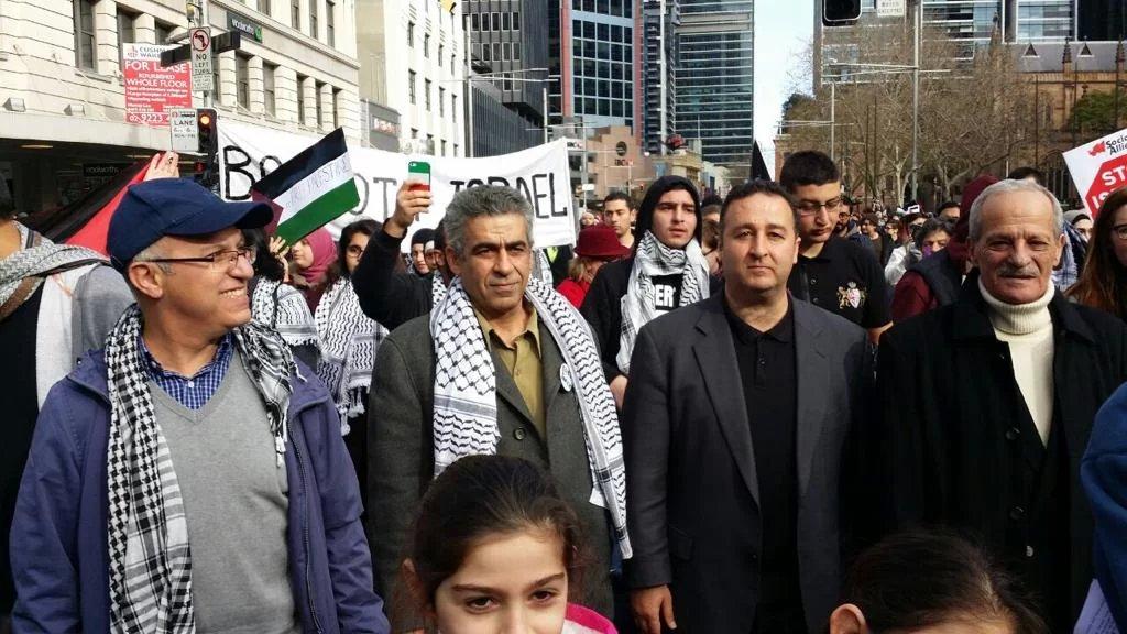 نشطاء في سيدني الأسترالية يستنكرون التهميش وممارسات الكراهية تجاه الفلسطينيين