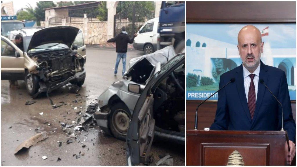 وزير الداخلية: الحد من حوادث السير من أولوياتي