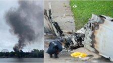 بالصور/  طلب زواج باستخدام طائرة ينتهي بتحطمها وسقوط قتيل في كندا