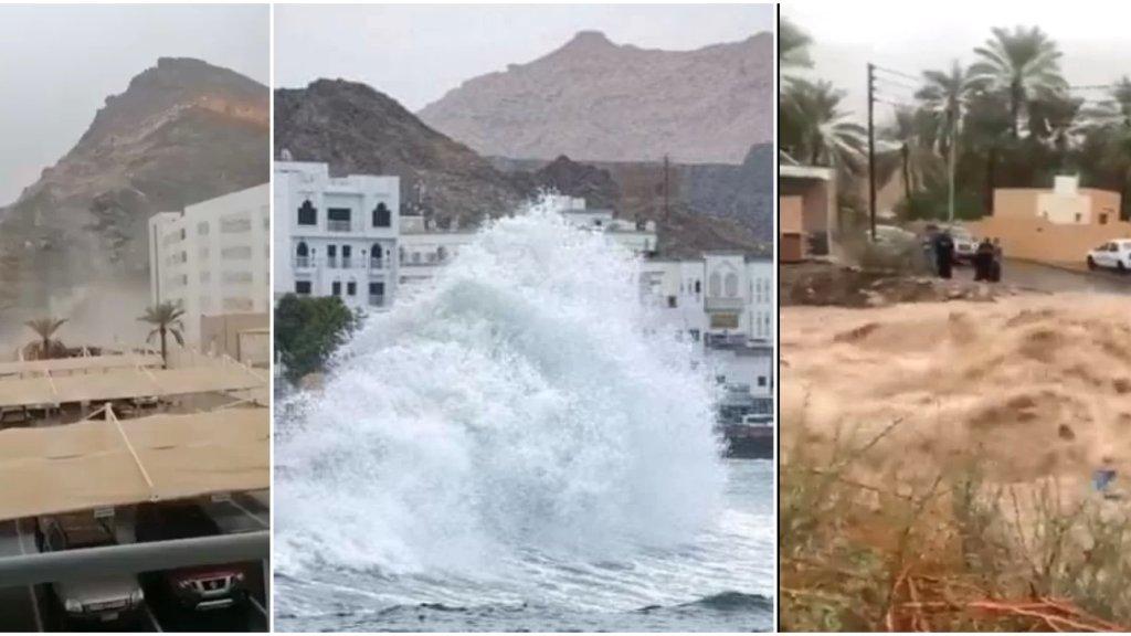 بالفيديو/ مشاهد صادمة من إعصار شاهين الذي يضرب عُمان!