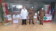 بالصور/  هبة طبية من الكتيبة الايطالية الى مستشفى بنت جبيل الحكومي