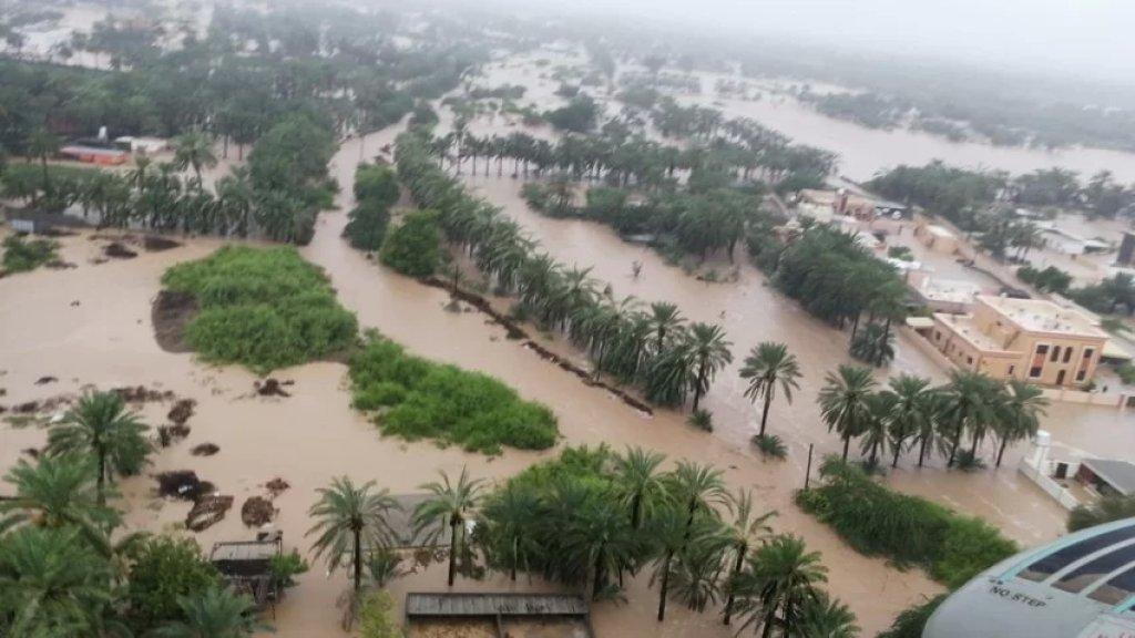 """إعصار """"شاهين"""" يحصد أرواح 18 شخصًا في عمان وإيران بينهم طفل إضافة لمفقودين"""