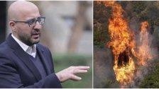 ارتفاع مؤشر الحرائق.. وزير البيئة يحذّر ويناشد المواطنين التقيّد بالتعليمات!