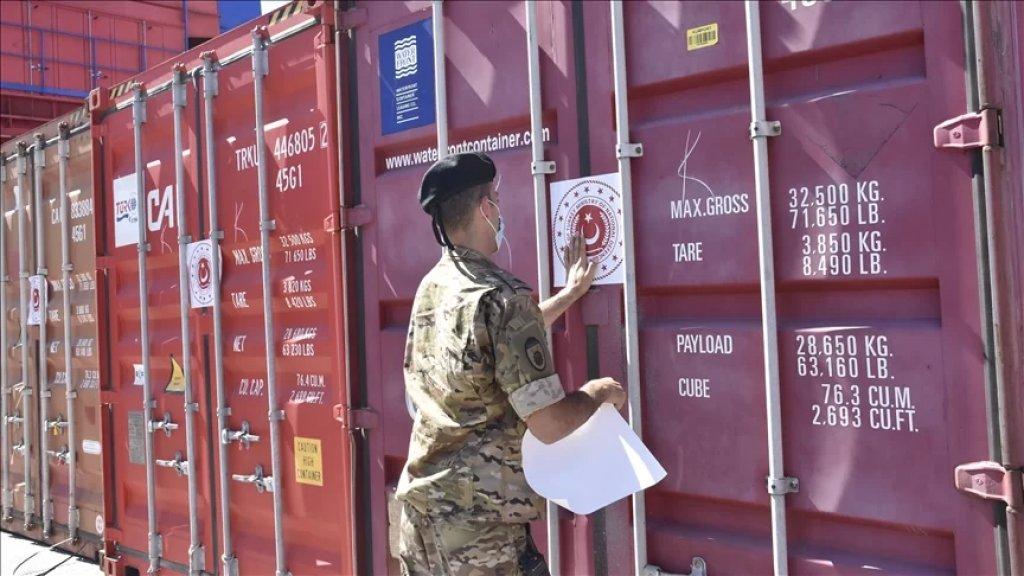 الجيش التركي يسلّم الجيش اللبناني 60 طنًا من المواد الغذائية
