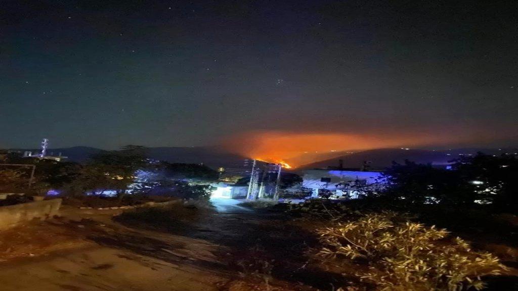 حريق كبير في خراج بلدتي بزال وحبشيت في عكار.. ومخاوف من توسع رقعة النار!