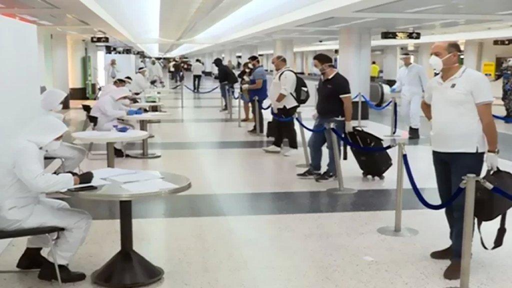 بين 4 و8 تشرين الأول الحالي.. تسجيل 173 إصابة لوافدين عبر المطار!