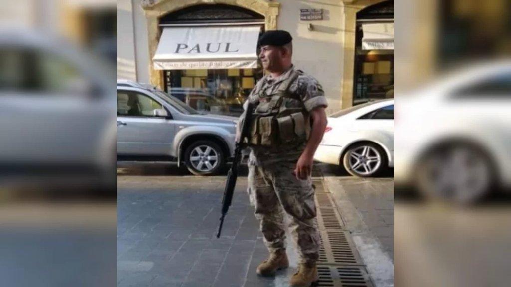 العسكري في الجيش محمد حمية ضحية حادث سير مروّع على طريق طاريا - شمسطار