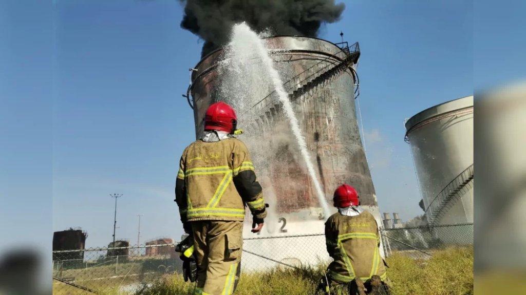 خطّار: 15 سيارة إطفاء تعمل على إخماد النيران ومن المبكر معرفة أسباب الحريق المندلع