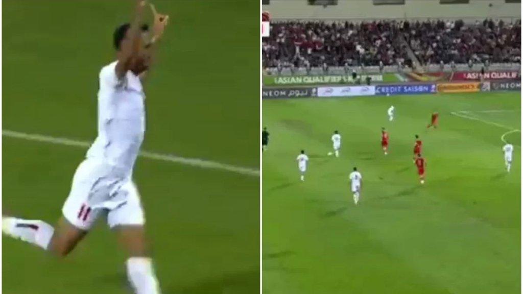 بالفيديو/ المنتخب اللبناني يتقدم بنتيجة ٢-١ على المنتخب السوري بفضل هدفين للاعب محمد قدوح