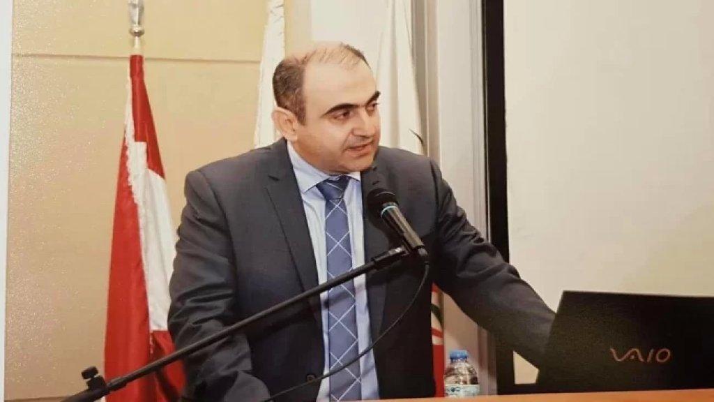 الرئيس الجديد للجامعة اللبنانية الدكتور بسام بدران: أعد ببذل كل الجهد لرفعة الجامعة وتوحيد الكلمة فيها والعناية بالطلبات مما يعزز مسيرة الجامعة الوطنية