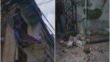 فاجعة في القبة: الشقيقتان صباح وحياة الزعبي رحلتا متأثرتين بجروح أصيبتا بها جراء انهيار شرفة المبنى في شارع الجديد مساء امس