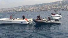 بالصور/ الدفاع المدني يواصل البحث عن مفقودَين جرّاء سقوط طائرة تدريب مقابل شاطئ حالات