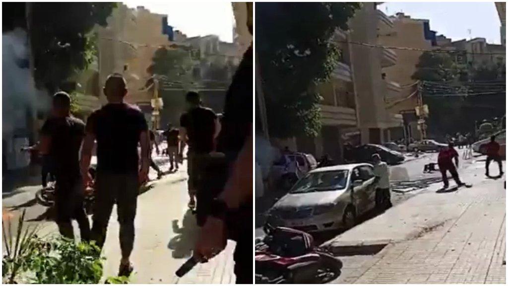 بالفيديو/ من الإشكال وإطلاق النار في منطقة الطّيونة في هذه اللحظات
