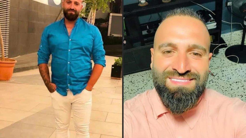 شهيد الكمين الغادر علي إبراهيم والذي فارق الحياة بعد اطلاق النار عليه خلال تظاهرة سلمية