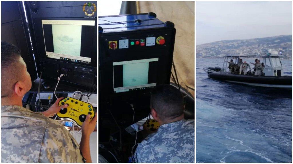 بالصور/ القوات الجوية وفوج المغاوير وفرق الإنقاذ البحري مستمرة بعمليات البحث عن مفقودي الطائرة التي سقطت بمياه حالات