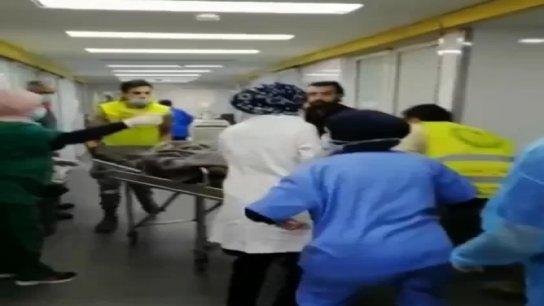 بالفيديو/ نقل الاصابات في المستشفيات بعد تعرض المحتجين لاطلاق نار