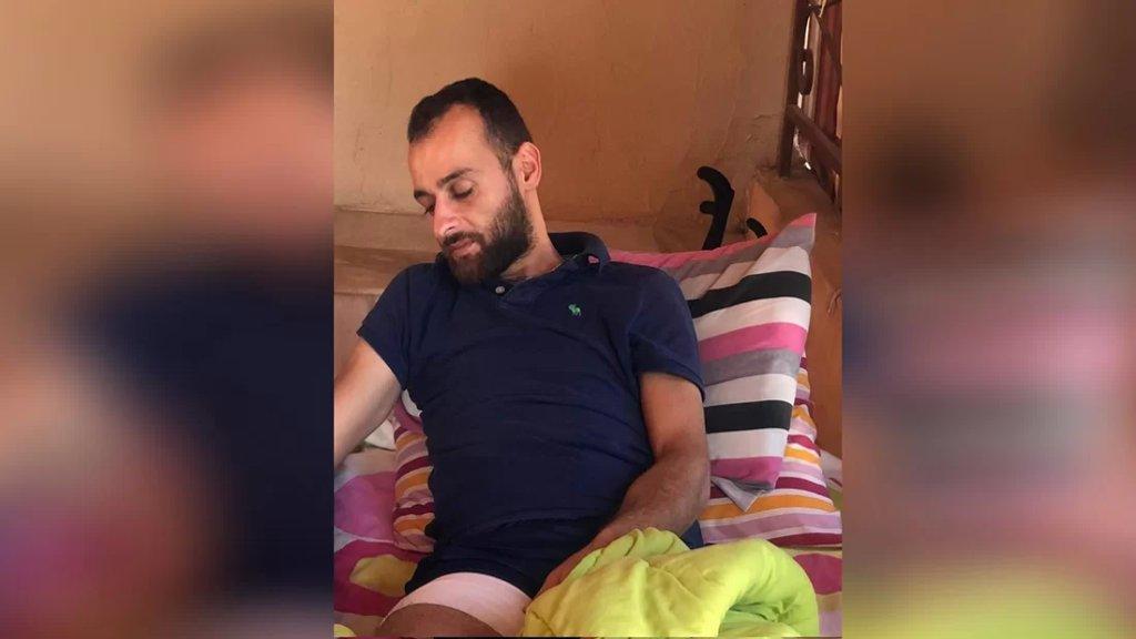 لا صحة لما أشيع عن استشهـ./د المُسعف المصاب أحمد عواضة والصحيح أنه في منزله وهو يتماثل للشفاء