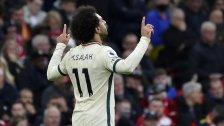 """بعدما سجل """"هاتريك تاريخي"""" أمام مانشستر يونايتد.. """"محمد صلاح"""" يصبح الهداف الأفريقي التاريخي للدوري الإنجليزي"""