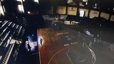 بالصورة/ انقطاع الكهرباء أثناء مباراة في بطولة لبنان لكرة السلة!