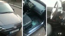 بالفيديو/ هكذا وجد سيارته بعدما حاولوا سرقتها في بيروت!